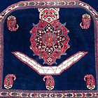 Afshar Kerman South Persian Horse Cover by Vicky Brago-Mitchell