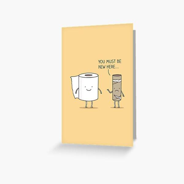Paperwork Greeting Card