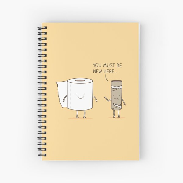 Paperwork Spiral Notebook