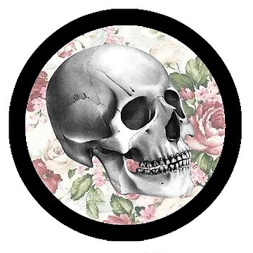 Floral Skull vers. 4 by queen-victoria