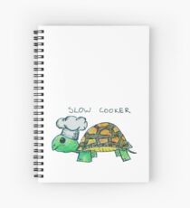 Slow Cooker - Turtle Pun Spiral Notebook