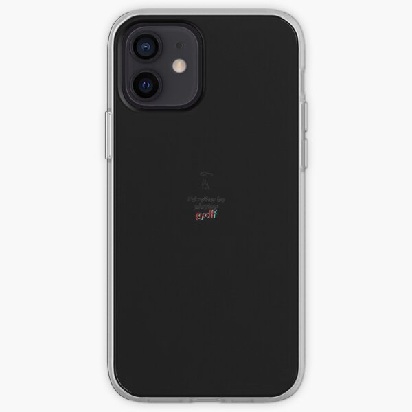 Golf - prefiero ser Funda blanda para iPhone