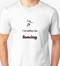 Camiseta unisex Esgrima - prefiero ser
