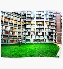 Park Hill Flats, Sheffield Poster