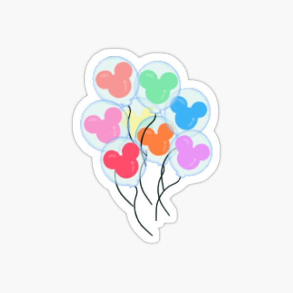 small balloons Sticker