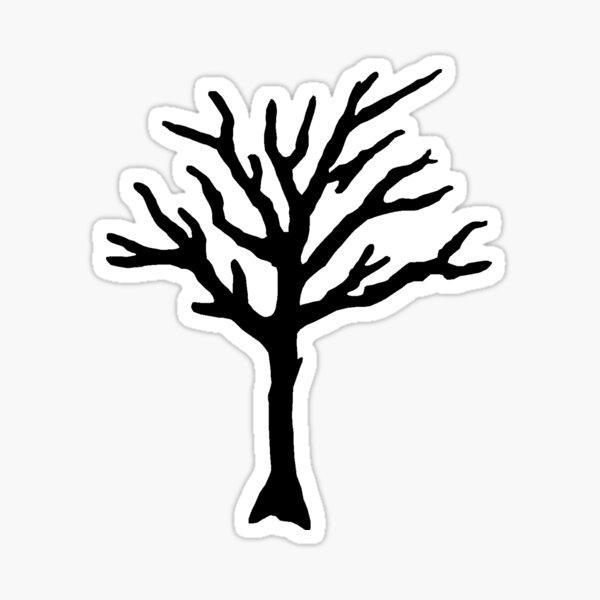 XXXTENTACION Tree Tattoo Sticker