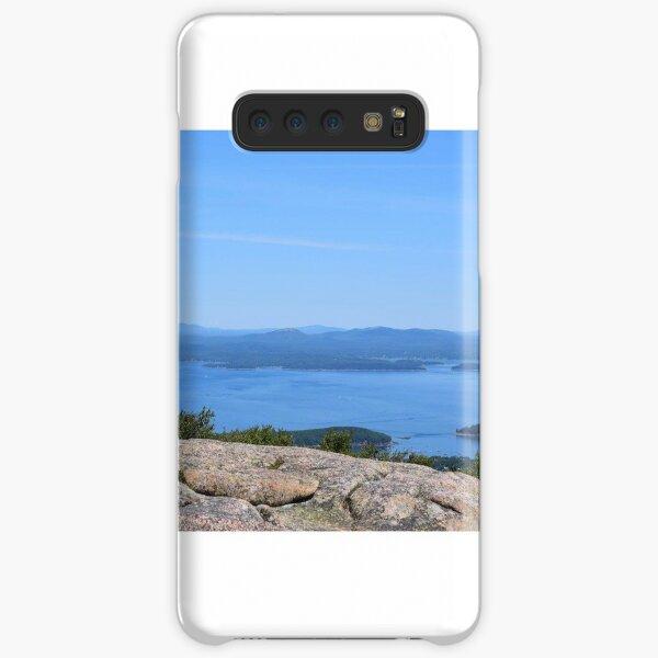 Porcupine islands. Bar harbor Maine.  Samsung Galaxy Snap Case