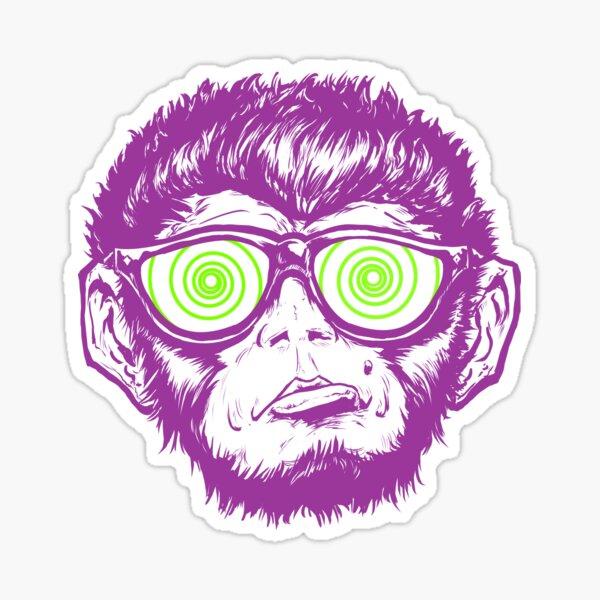 Monkey See Monkey Do Sticker
