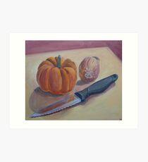 Pumpkin Stew Art Print