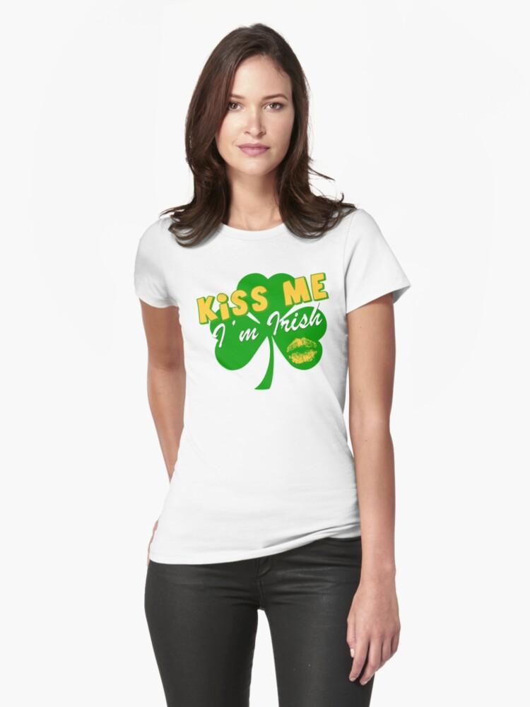 Kiss me I'm Irish by red addiction