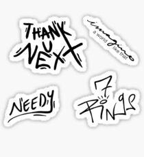 THANK U, NEXT STICKER PACK Sticker