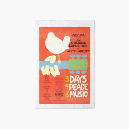 Woodstock Art Board Print