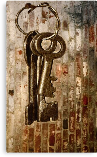 Antique Keys - What They Unlock? by Charuhas  Images