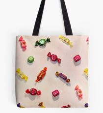 Sweet Candy Painted Pattern Tote Bag