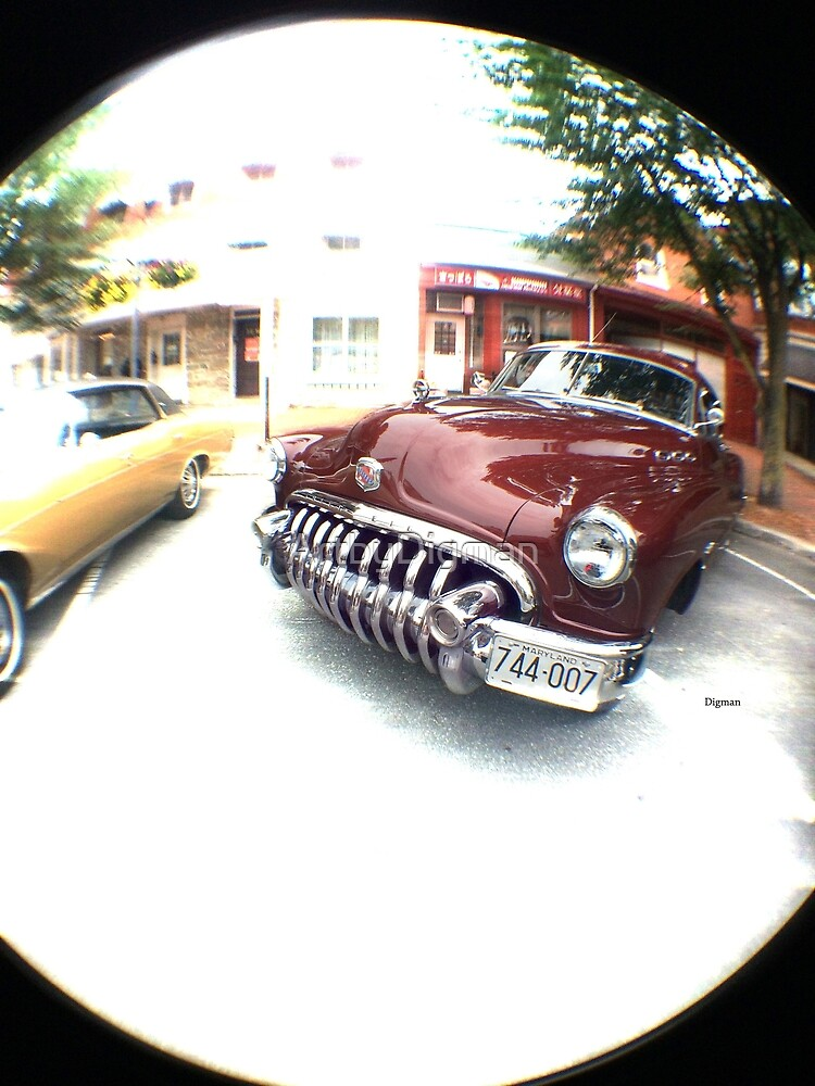 1950 Buick Eight  by ArtbyDigman