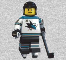 San Jose Sharks lego player No 12