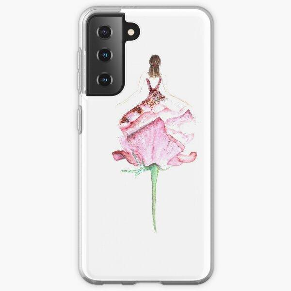 Flowergirl Samsung Galaxy Soft Case