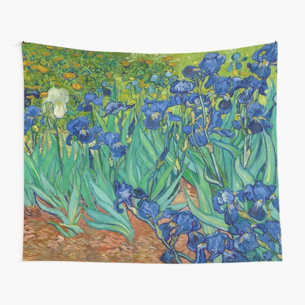 Iris de Vincent van Gogh (mayo de 1889) Tela decorativa