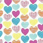 Hearts and Love by Sandra Hutter