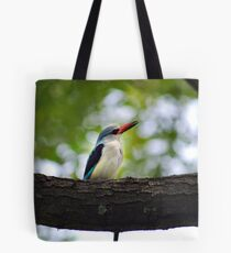 Watching with interest Tote Bag