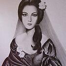 Lady of the Camellias by Kamila  Krizova/Aitchison