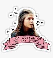 Octavia of the Sky People Sticker
