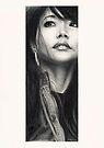 Mimi - Portrait of the artist by Chris Baker