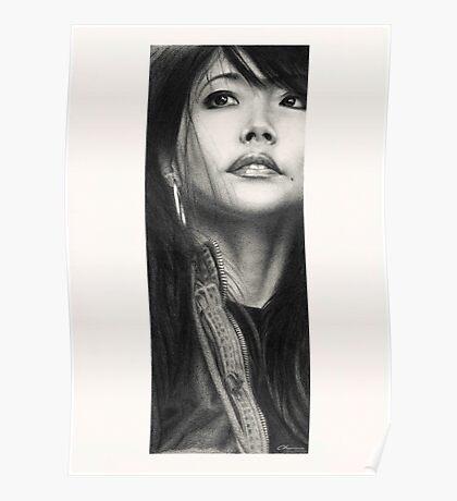 Mimi - Portrait of the artist Poster