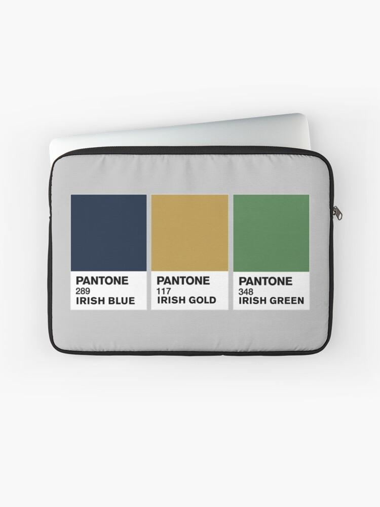 Notre Dame Colors | Laptop Sleeve