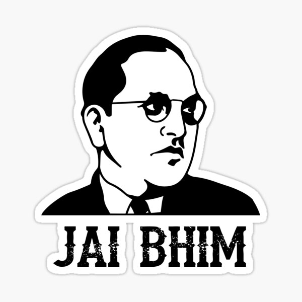 Ambedkar Jayanthi Liberty equality fraternity Sticker