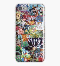 Old school graffiti mix N°1 iPhone Case/Skin