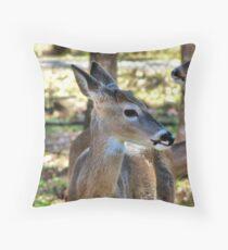 Nubbin Buck Throw Pillow