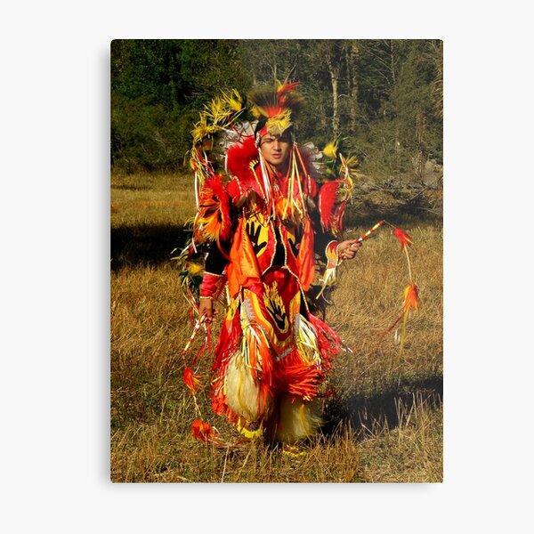 Native Encounters ~ Part Two Metal Print