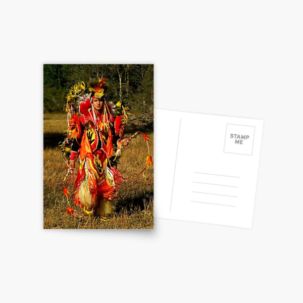 Native Encounters ~ Part Two Postcard
