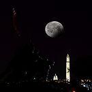Iwo Jima Memorial - Arlington National Cemetery by Matsumoto