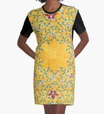 Persian art Graphic T-Shirt Dress