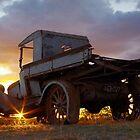 Vintage Sunset by Penny Kittel
