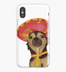 Sombrero Dog iPhone Case/Skin