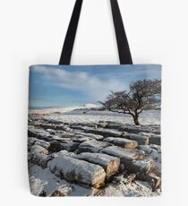 Winter In Ribblesdale Tote Bag