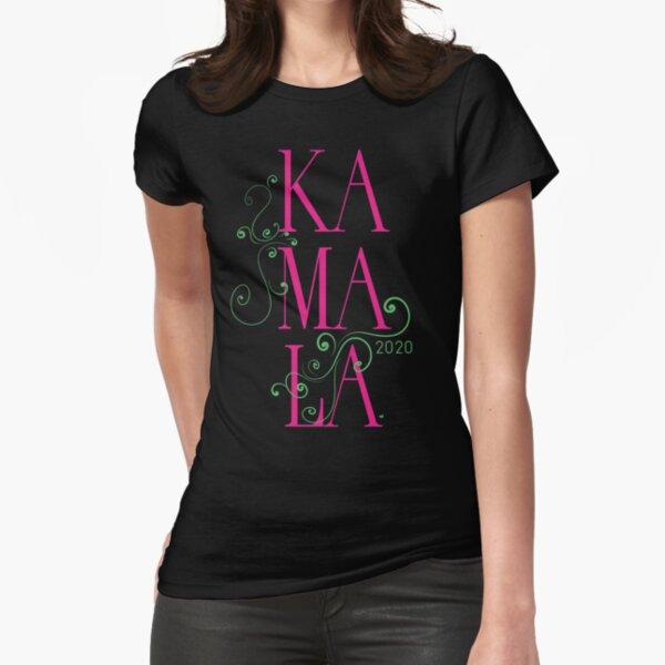 Kamala 2020 Motif Fitted T-Shirt