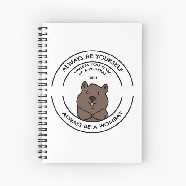 Wombat Apparel Spiral Notebook