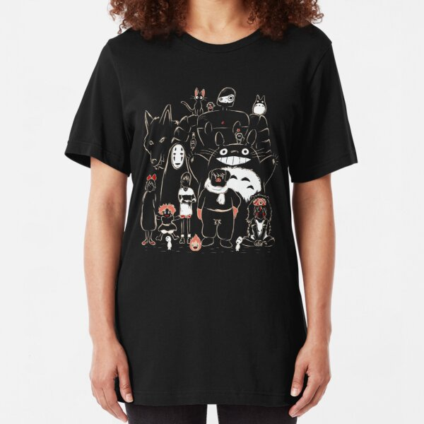 Shadow Of The Little Witch Kikis Delivery Service Kid/'s T-Shirt