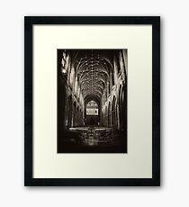 Gothic Worship Framed Print