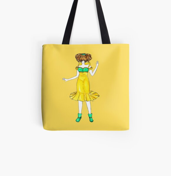 Flower Girl : Jonquil All Over Print Tote Bag