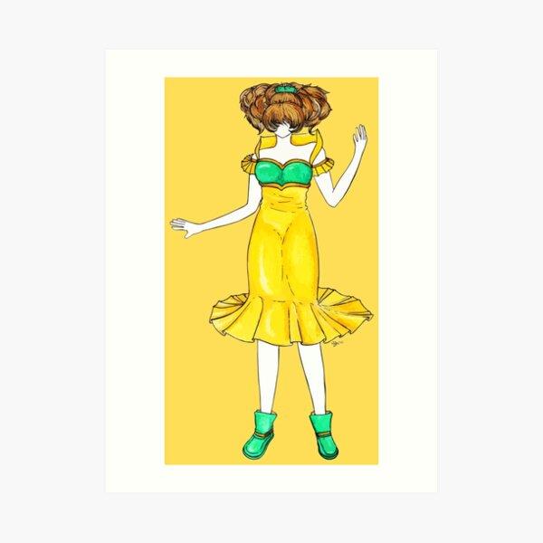 Flower Girl : Jonquil Art Print