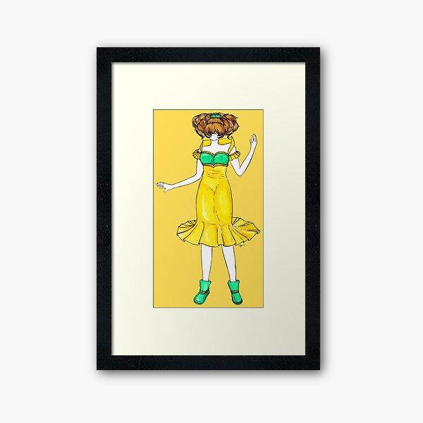 Flower Girl : Jonquil Framed Art Print