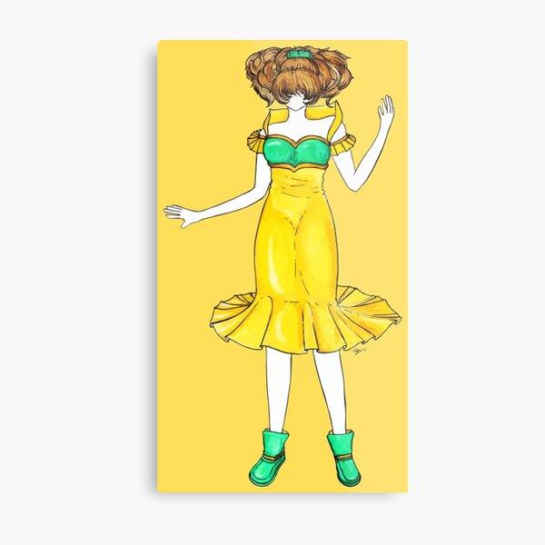 Flower Girl : Jonquil Metal Print