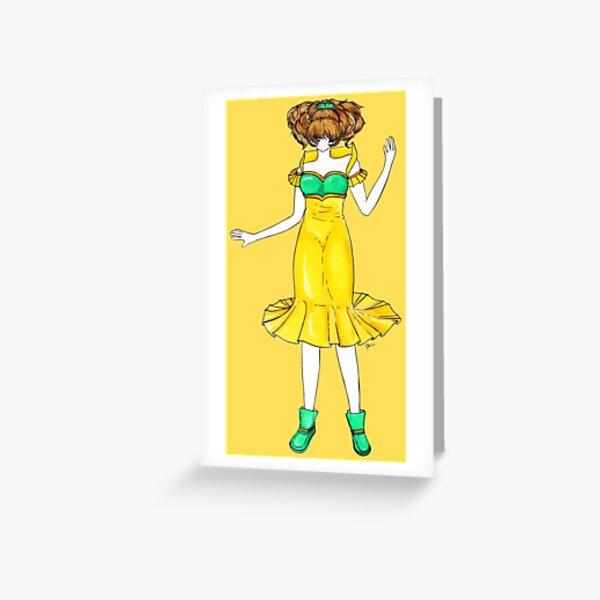 Flower Girl : Jonquil Greeting Card