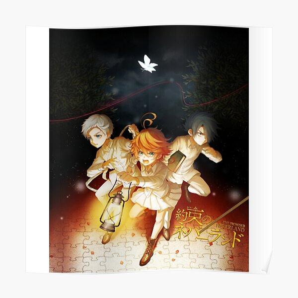 El País de la Novia Prometido [Yakusoku no Nebārando] Póster