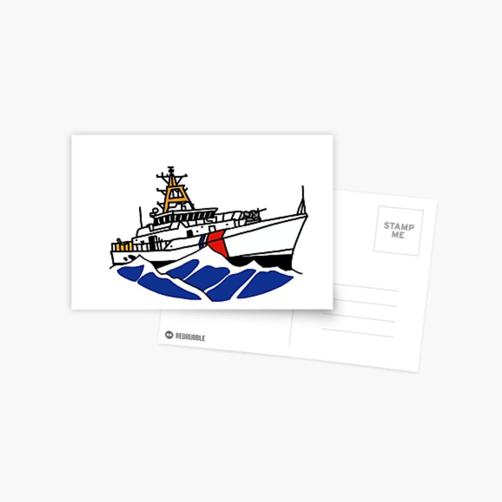 USCG Fast Response Cutter Postcard